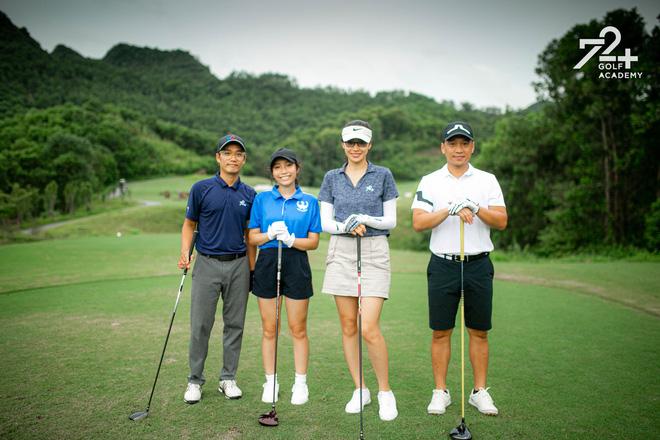 Tiểu thư 2k2 nhà Diva Mỹ Linh bước chân vào hội mê golf, tiết lộ nhờ vậy mà thân với bố hơn - Ảnh 7.