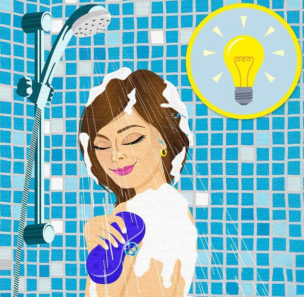 Sếp giục bài mà bí ý tưởng? Lập tức đi tắm ngay cho tôi và đây là lý do tại sao - Ảnh 2.