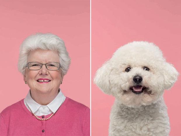 Bộ ảnh chứng minh chủ và thú cưng chung sống càng lâu càng giống nhau - Ảnh 2.