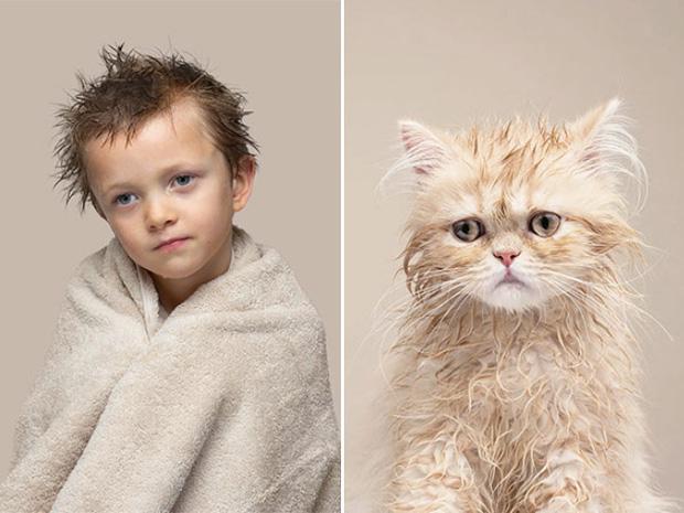 Bộ ảnh chứng minh chủ và thú cưng chung sống càng lâu càng giống nhau - Ảnh 13.