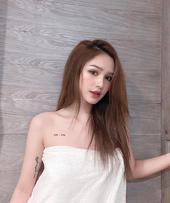 Thân hình sexy tuổi 18 của chị dâu Diệp Lâm Anh - Ảnh 4.