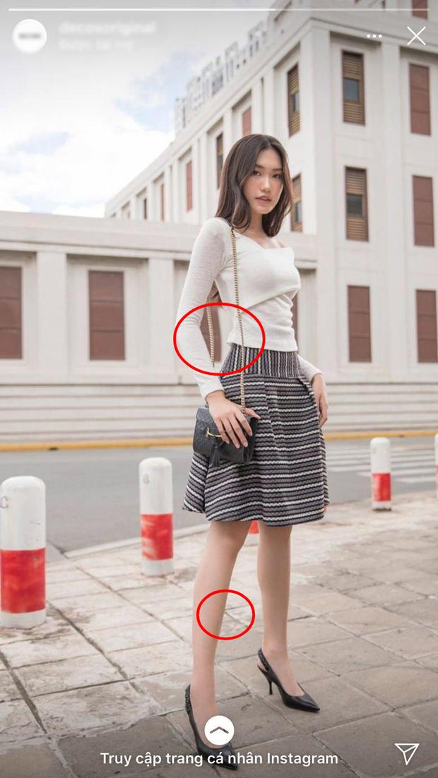 Gái đẹp hot nhất Hoa hậu Việt Nam lộ ảnh bóp eo - kéo chân rõ mồn một, lần này là do tai nạn nghề nghiệp - Ảnh 1.