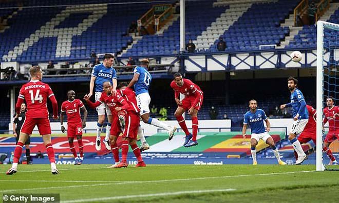 Bị từ chối bàn thắng phút 90+2, Liverpool rơi điểm ở trận derby nghẹt thở - Ảnh 2.