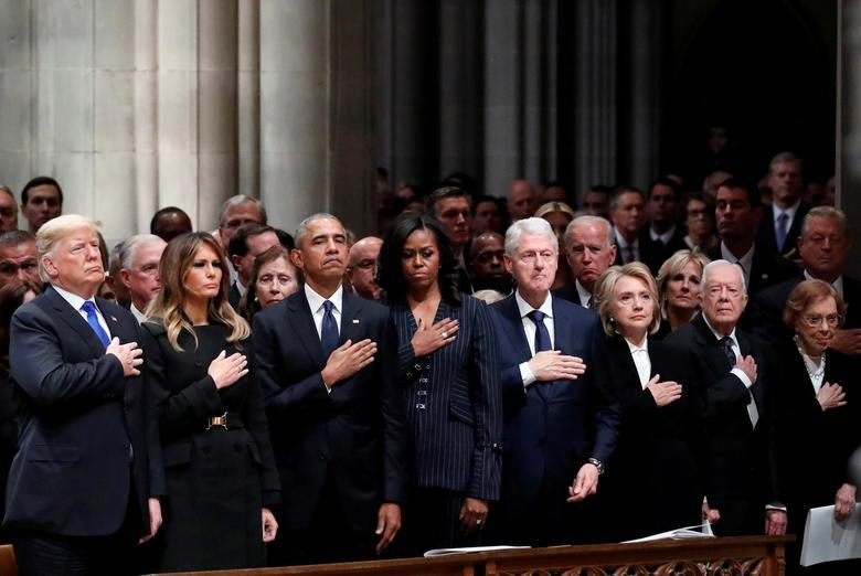 16 khoảnh khắc đáng nhớ trong nhiệm kỳ đầu tiên của Tổng thống Donald Trump qua ảnh Reuters - Ảnh 8.