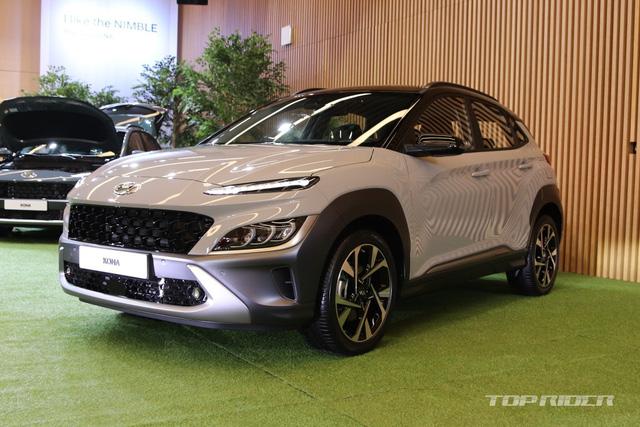 Chi tiết Hyundai Kona 2021 ngoài đời thực: Bóng bẩy hơn, đối thủ thực sự của hiện tượng Kia Seltos sẽ sớm về Việt Nam - Ảnh 1.