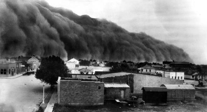 Sự kiện Dust Bowl: Cơn bão đen kéo dài 10 năm trên khắp Bắc Mỹ - Ảnh 9.