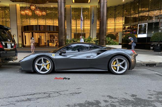 Ferrari 488 GTB được đồn đoán là của nữ doanh nhân chơi siêu xe khét tiếng một thời ra biển số mới - Ảnh 2.