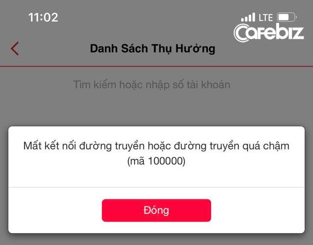 Internet banking của Techcombank lại gặp sự cố, hotline không thể liên lạc? - Ảnh 1.