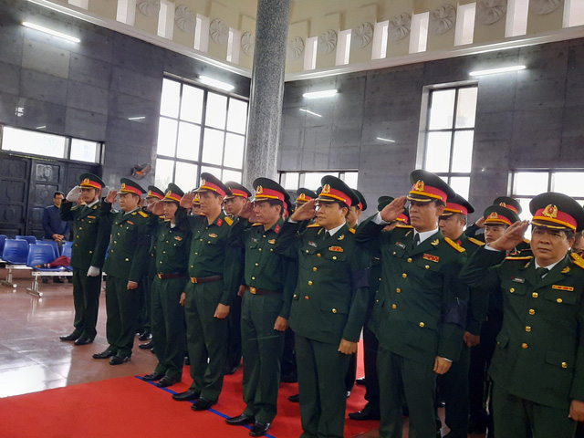Lễ viếng liệt sỹ - Đại tá Hoàng Mai Vui tại quê nhà - Ảnh 4.