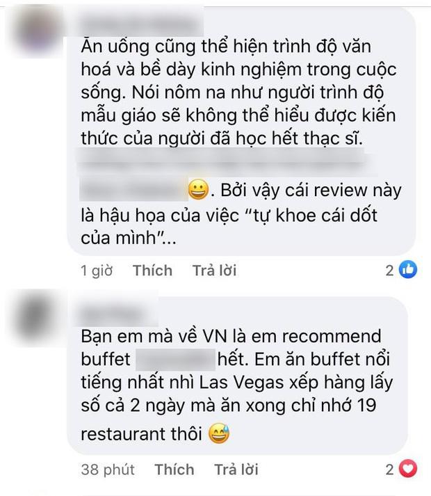 """Khách review buffet không ưng ý, nhân viên khách sạn 5 sao ở Sài Gòn mỉa mai """"1tr4 to quá, ăn 140k ở chợ Bến Thành còn hơn đó"""" - ảnh 6"""