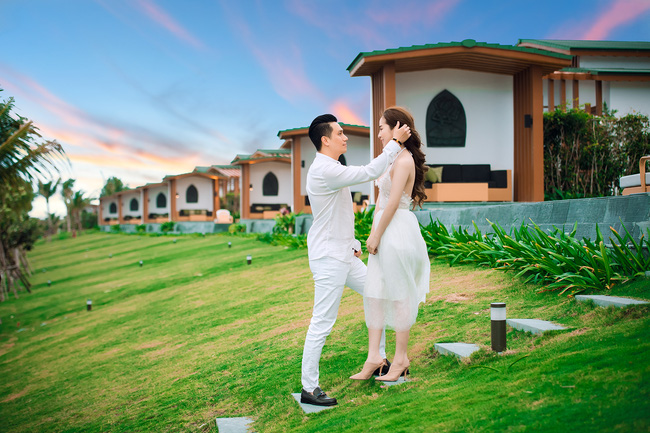Việt Anh và Quỳnh Nga chính thức công khai những hình ảnh thân mật, tình tứ - Ảnh 5.