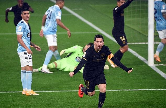 Messi cùng truyền nhân giúp Barca thoát hiểm; Liverpool bất ngờ gục ngã dưới tay Arsenal - Ảnh 3.