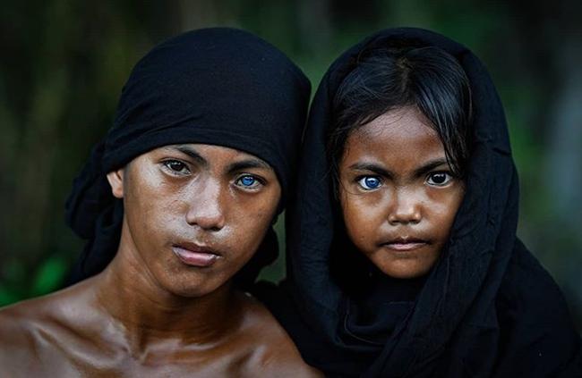 Kỳ lạ tộc người hiếm hoi sở hữu màu mắt xanh như biển cả - Ảnh 7.