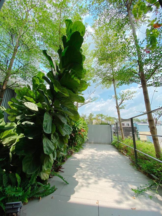 Gái xinh khoe nhà rộng 1000m2 ngay trung tâm Sài Gòn, nhìn phòng tắm là đủ hiểu cơ ngơi hoành tráng đến mức nào - Ảnh 10.