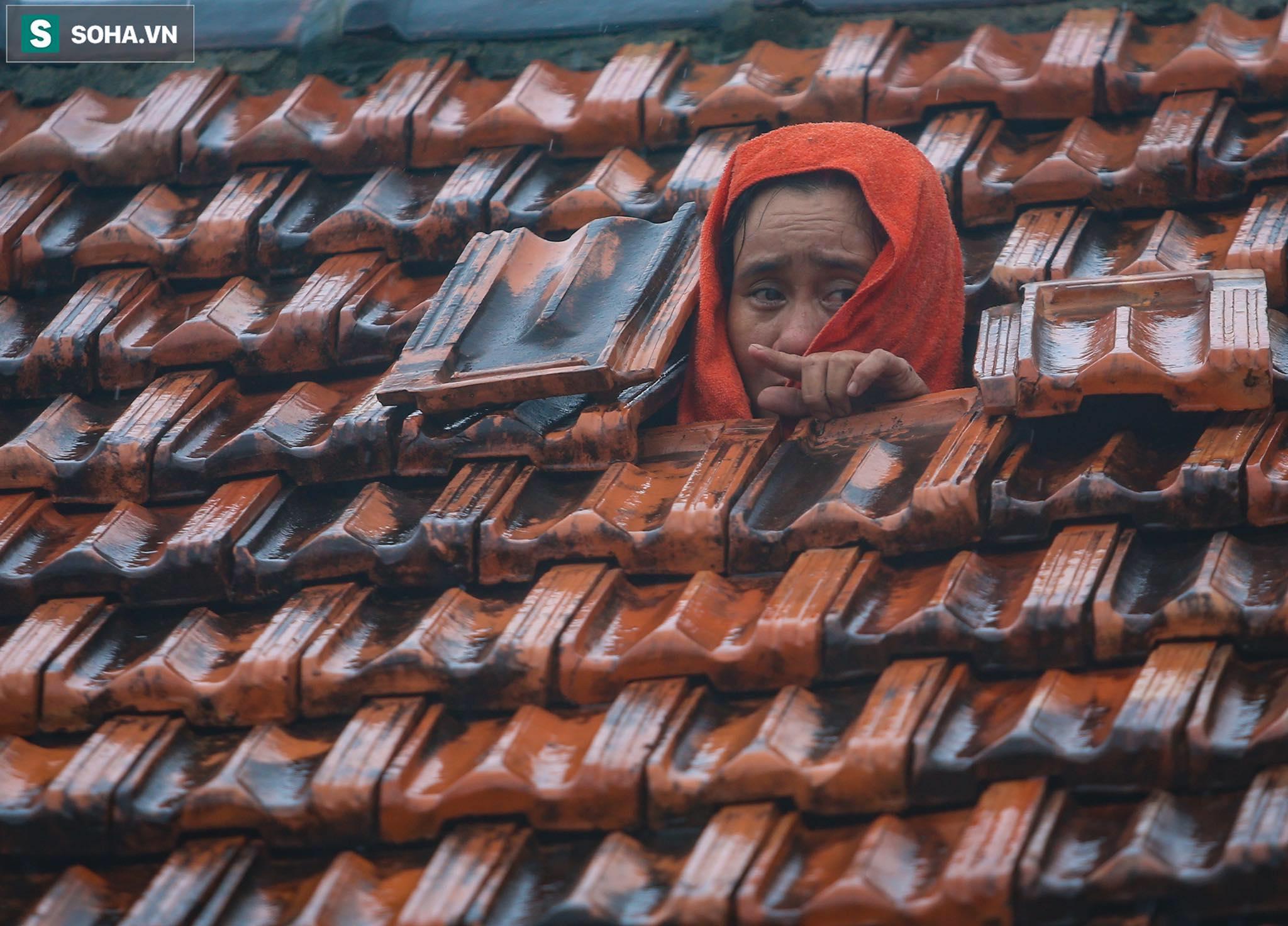 Những cánh tay 'cầu cứu' từ mái nhà trong cơn lũ lịch sử ở Quảng Bình - Ảnh 5.