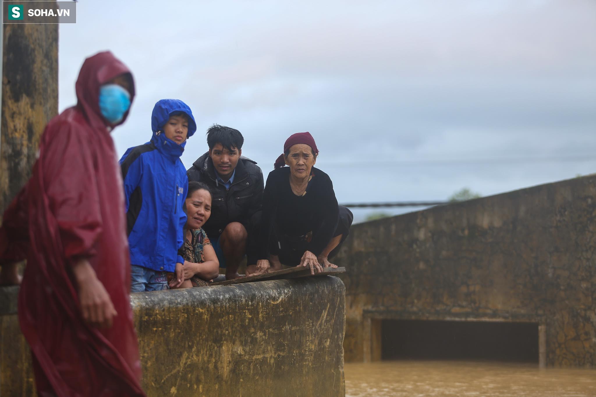 Những cánh tay 'cầu cứu' từ mái nhà trong cơn lũ lịch sử ở Quảng Bình - Ảnh 7.