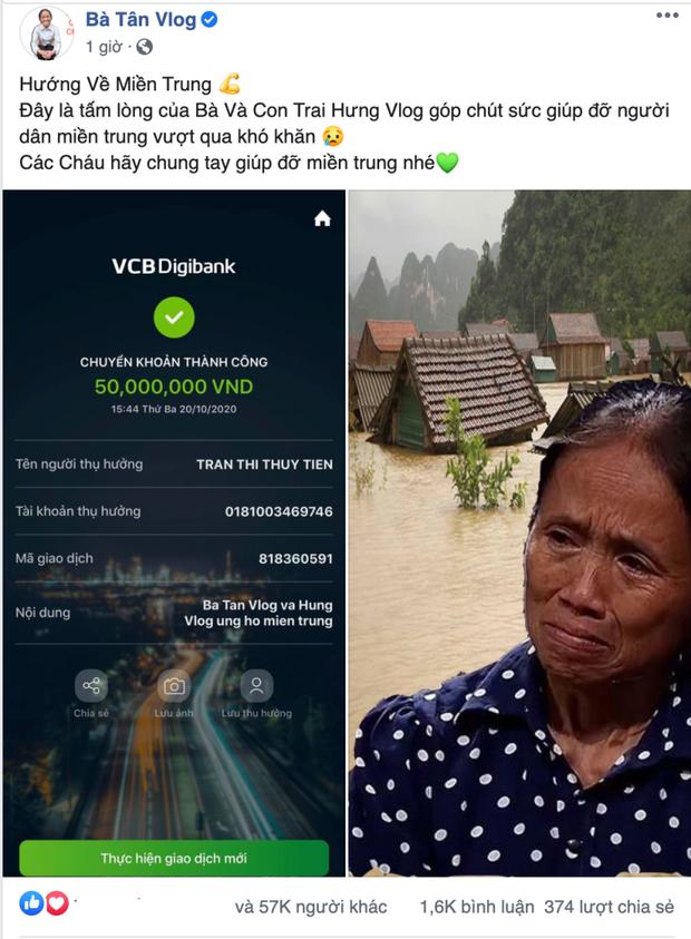 Nhiều người cạnh khoé bà Tân Vlog vì ghép ảnh khóc lóc từ thiện, cần lên án ngay những netizen này vì quá vô duyên! - Ảnh 1.