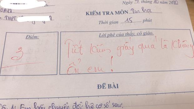 Thầy giáo cho đề kiểm tra cực khó, học trò khóc ròng nhưng lại cười ngay vì loạt lời phê cưng xỉu - Ảnh 5.