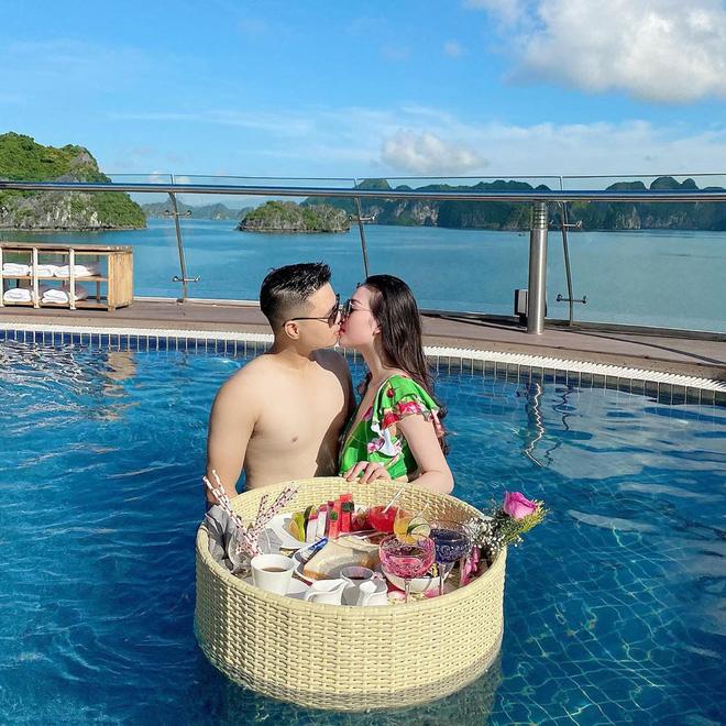 Cô dâu 200 cây vàng Nam Định được chồng tổ chức tiệc mừng 20/10 hoành tráng, to ngang ngửa sự kiện của năm - Ảnh 6.