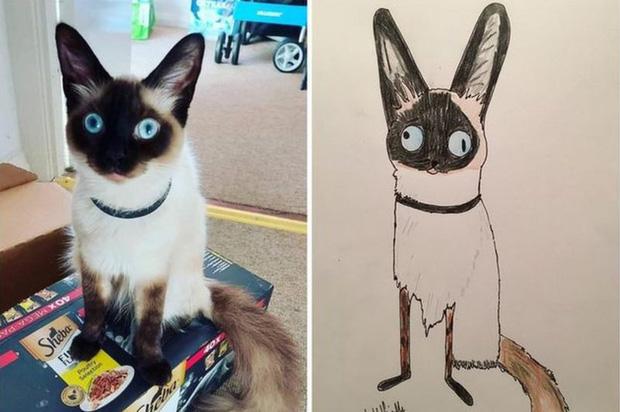 Vẽ chó mèo xấu như ma cấu nhưng vẫn bán được 150 triệu đồng, họa sĩ bèn đem đi từ thiện cho đỡ mang tiếng - Ảnh 2.