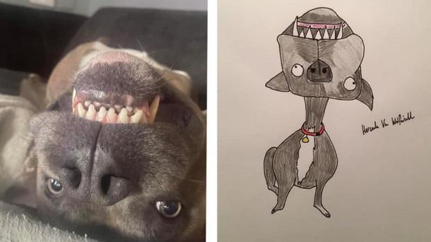 Vẽ chó mèo xấu như ma cấu nhưng vẫn bán được 150 triệu đồng, họa sĩ bèn đem đi từ thiện cho đỡ mang tiếng - Ảnh 4.