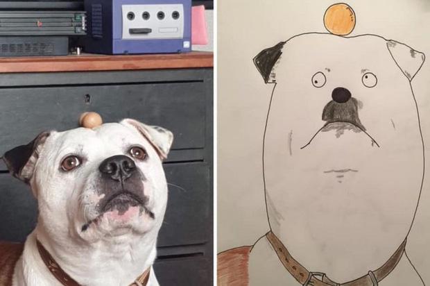 Vẽ chó mèo xấu như ma cấu nhưng vẫn bán được 150 triệu đồng, họa sĩ bèn đem đi từ thiện cho đỡ mang tiếng - Ảnh 6.