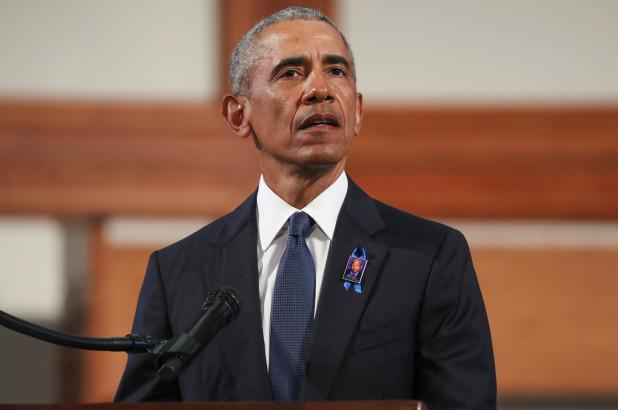 Cuộc đối đầu của Tổng thống Trump và ông Barack Obama tại Pennsylvania - Ảnh 3.