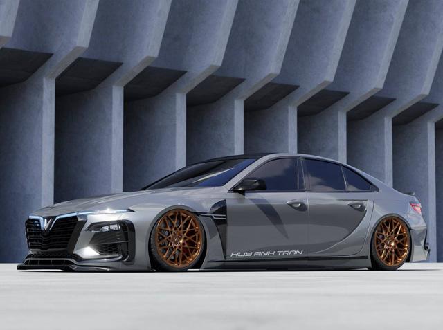 Designer Việt thiết kế VinFast Lux A2.0 như siêu xe: Mercedes có AMG, BMW có M, còn VinFast có thể cần thứ này đây - Ảnh 4.