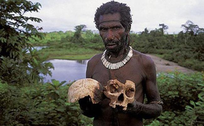 Bộ lạc bí hiểm và những tập tục kinh dị và ớn lạnh ở Papua New Guinea - Ảnh 5.