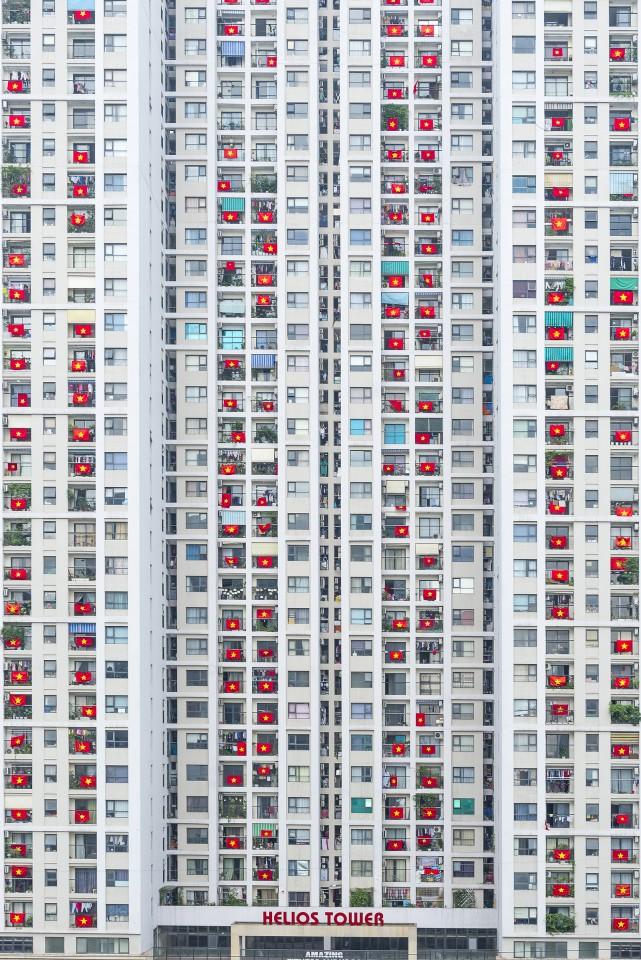 Một loạt tác phẩm Việt gây ấn tượng tại cuộc thi Nhiếp ảnh từ trên không 2020 - Ảnh 3.