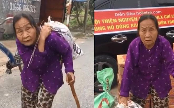 Cụ bà 88 tuổi đập lợn đất được 5 triệu, đạp xe đi ủng hộ người dân miền Trung - Ảnh 3.