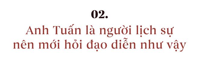 Kiều Minh Tuấn hết hồn vì cảnh nóng, Kaity Nguyễn: Anh ấy lịch sự mới hỏi đạo diễn như vậy - Ảnh 4.