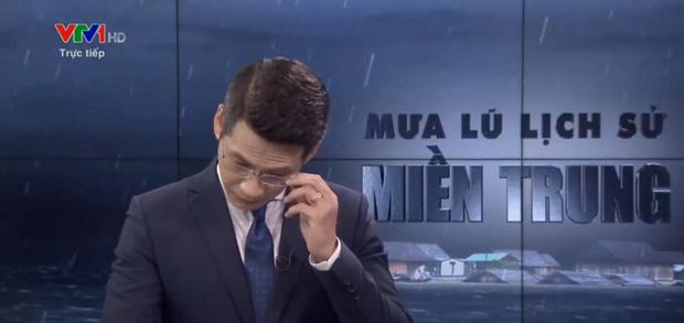 BTV bật khóc khi đang dẫn trực tiếp về lũ lụt miền Trung trên VTV là ai? - Ảnh 2.