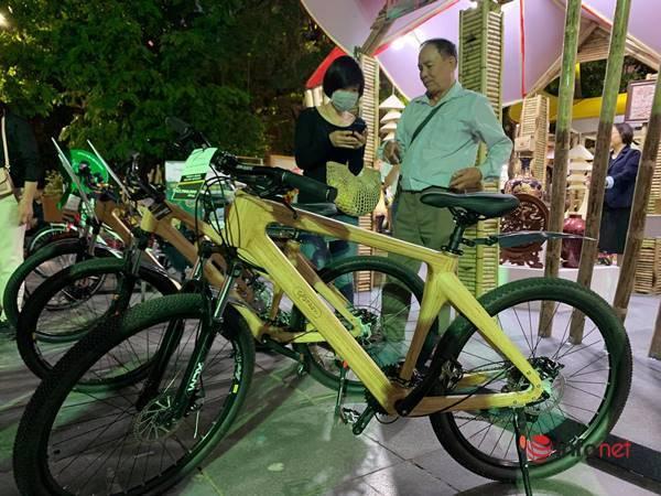 Giật mình chiếc xe đạp khung tre có giá đắt ngang xe máy tay ga - Ảnh 2.