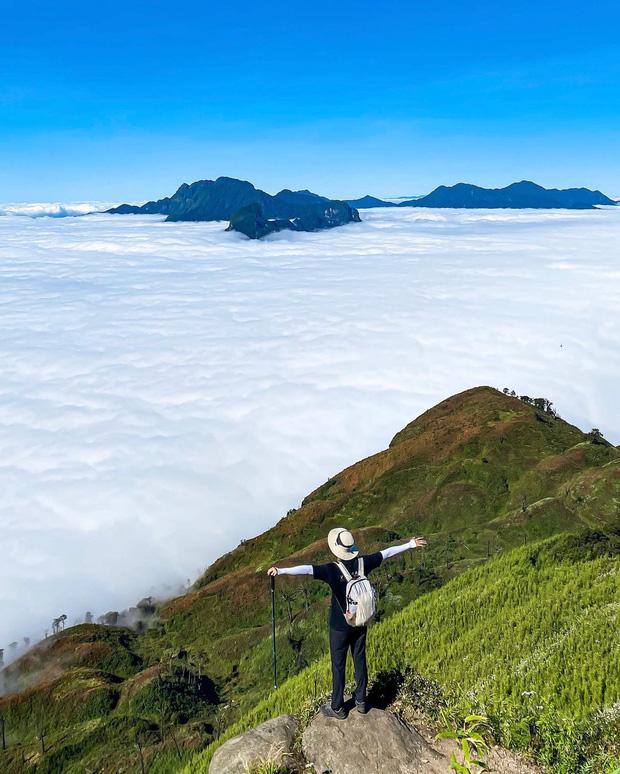 """Dân mạng truy lùng địa điểm săn mây đẹp bậc nhất Việt Nam: Xem ảnh mà ngỡ """"tiên cảnh"""" giữa đời thực, không phải ai cũng được check-in - Ảnh 2."""