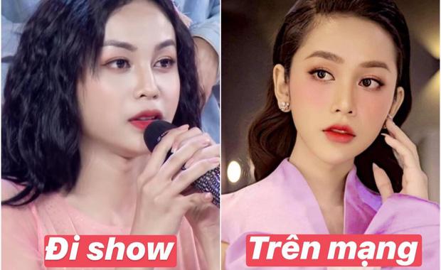 Soi nhan sắc trên tivi vs ảnh đăng phây của thí sinh hot nhất Hoa hậu Chuyển giới Việt Nam 2020 - Ảnh 1.