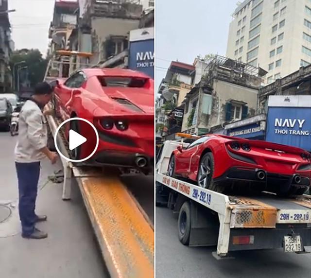 Ferrari F8 Spider thứ 2 về Việt Nam, ngoại hình dễ gây nhầm lẫn với F8 Tributo của Nguyễn Quốc Cường - Ảnh 1.