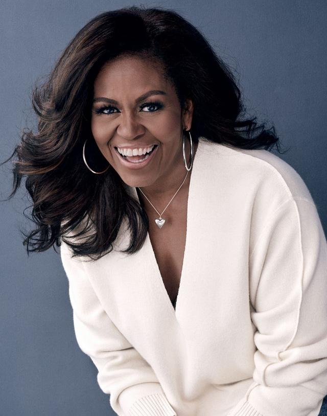 Michelle Obama: Chọn chồng như chọn đồng đội chơi bóng rổ, hôn nhân khó khăn không đồng nghĩa với bỏ cuộc - Ảnh 1.