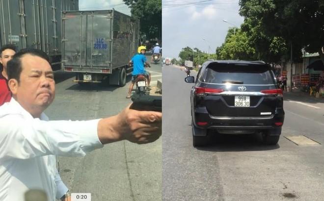 Giám đốc chĩa súng dọa bắn tài xế sau va chạm giao thông hầu tòa - Ảnh 2.