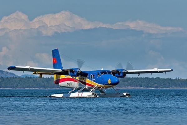 Máy bay của Quân chủng Hải quân tìm kiếm 26 ngư dân mất tích không phát hiện được mục tiêu - Ảnh 1.