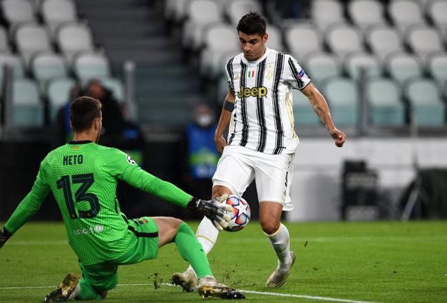 Đen đủi vô đối, Morata sút tung lưới Barca 3 lần nhưng bị VAR từ chối - Ảnh 1.