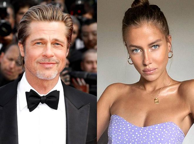 Truyền thông xác nhận Brad Pitt và bạn gái người mẫu đã chia tay - Ảnh 1.