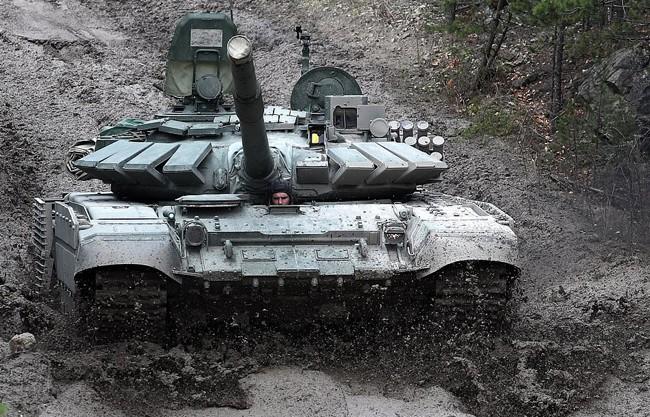 Nga triển khai xe tăng T-72B3 tới quần đảo tranh chấp với Nhật Bản - Ảnh 1.
