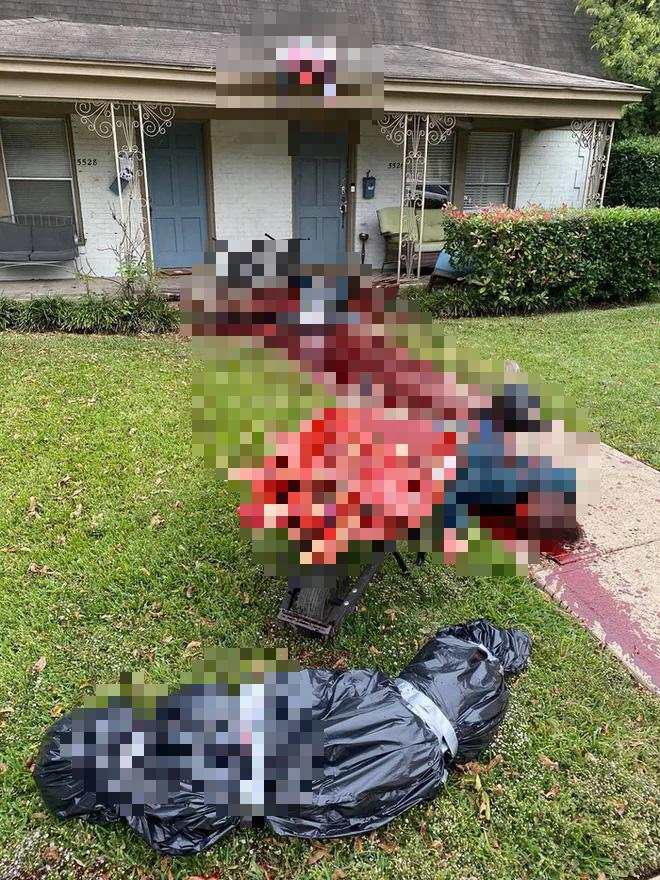 Trang trí nhà đón Halloween quá có tâm, gia chủ bị cảnh sát hỏi thăm liên tục vì tưởng là án mạng - Ảnh 3.
