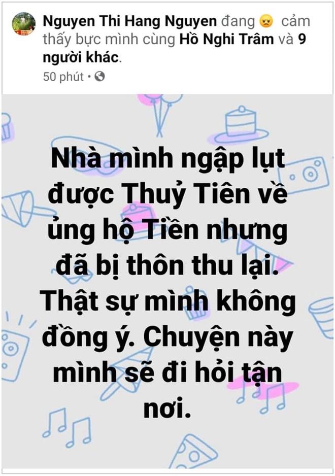 Vụ Thủy Tiên trao tiền từ thiện ở Quảng Bình, cán bộ đến từng nhà thu lại: Yêu cầu trả lại tiền cho người dân - Ảnh 1.