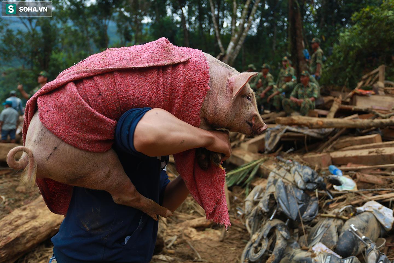 [Ảnh] Những thứ còn sót lại dưới đống hoang tàn ở vụ sạt lở Trà Leng sau 48 giờ tìm kiếm - Ảnh 16.