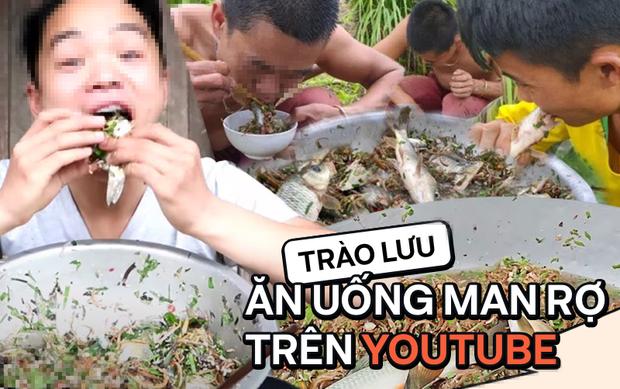 Thanh niên nhai cá sống chia sẻ lí do làm clip kinh dị trên VTV, bất ngờ hơn là thông tin cả xã có đến 20 kênh YouTube? - Ảnh 1.