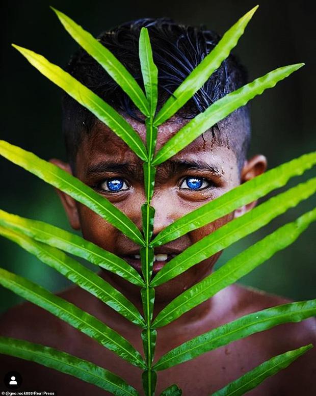 Bộ tộc kỳ bí ở Indonesia với đôi mắt xanh biếc như màu trời, nguyên nhân là do hội chứng lạ mà người ở đây mắc phải - Ảnh 7.