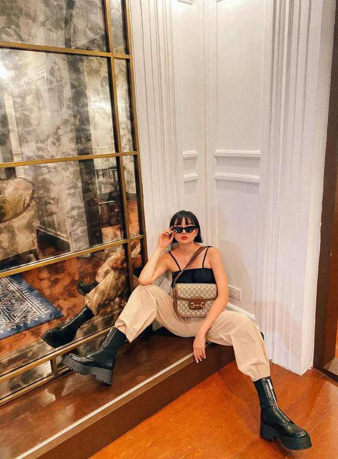 Biệt thự siêu sang của gái đẹp lấy đại gia Thái Lan: Nhìn kiểu gì cũng giống resort cao cấp, đứng vu vơ ở nhà xe cũng có ảnh sống ảo - Ảnh 7.