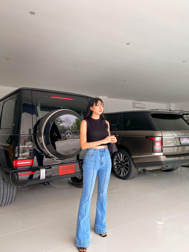 Biệt thự siêu sang của gái đẹp lấy đại gia Thái Lan: Nhìn kiểu gì cũng giống resort cao cấp, đứng vu vơ ở nhà xe cũng có ảnh sống ảo - Ảnh 9.